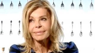 La actriz Bibiana Fernández en el momento de su expulsión /RTVE