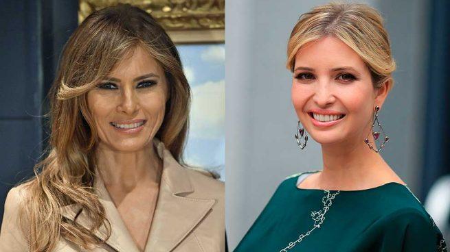 Melania Ivanka Trump Tendencias Otoño Abrigo Tono Pastel