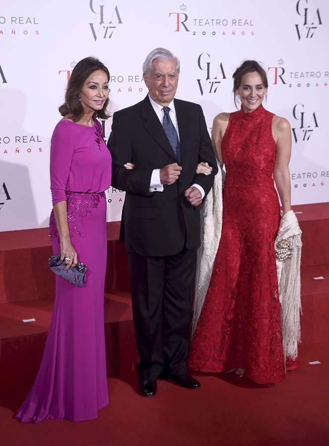 Isabel Preysler, Mario Vargas Llosa, Tamara Falcó