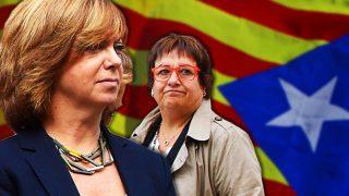 GALERÍA: Meritxell Borràs y Dolors Bassa, las exconsejeras encarceladas