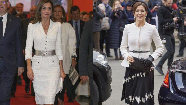 La reina Letizia y Mary de Dinamarca