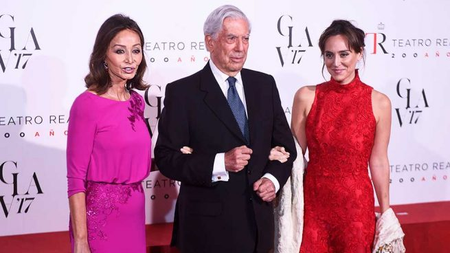Tamara Falcó Isabel Preysler Mario Vargas Llosa