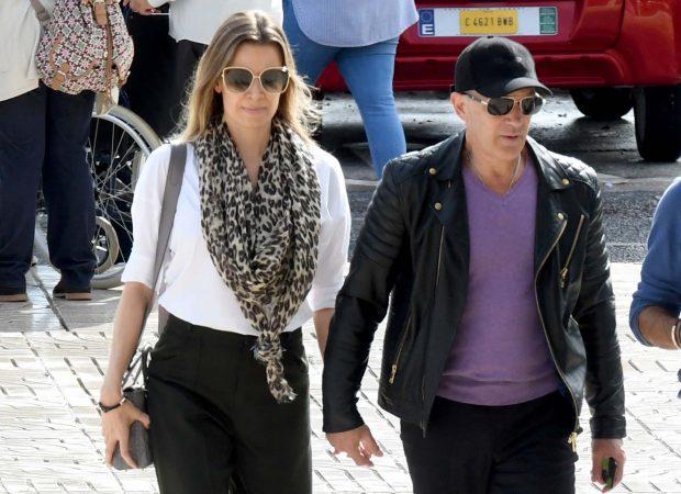 EN IMÁGENES | Antonio Banderas, desolado en el último adiós a su madre
