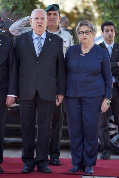 Reuven y Nechama Rivlin