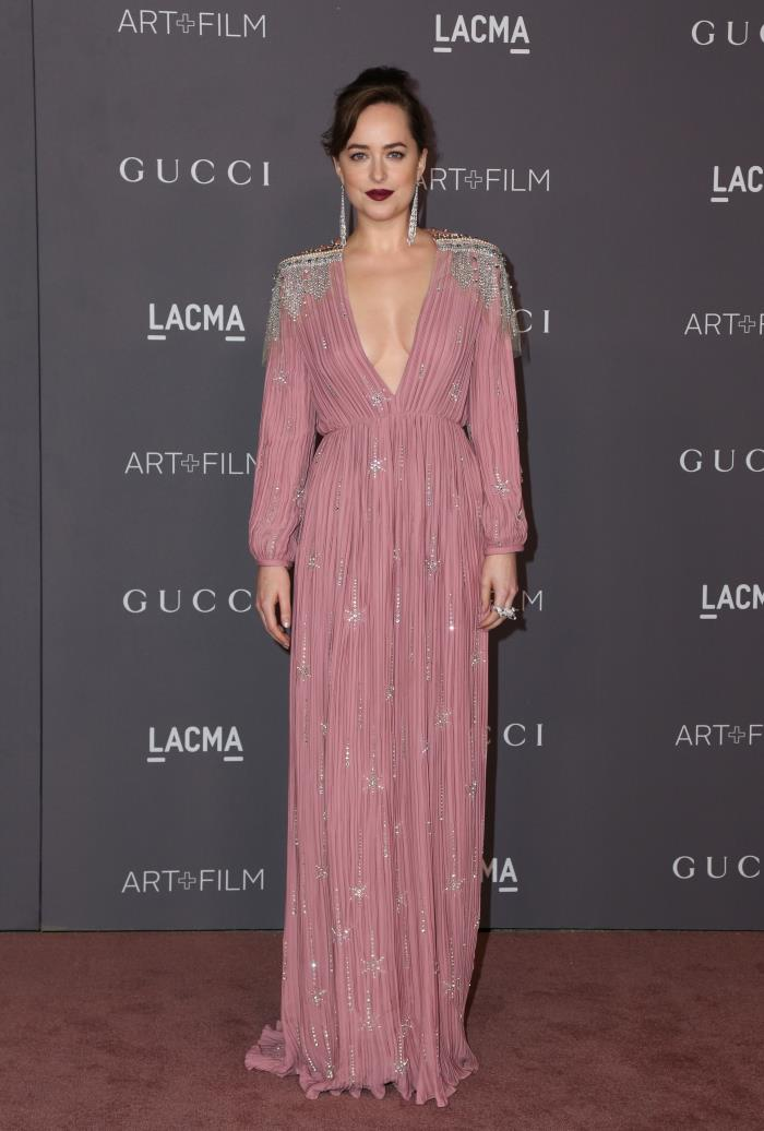 dakota johnson lacma 2017