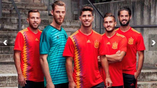 Camiseta Selccción Española