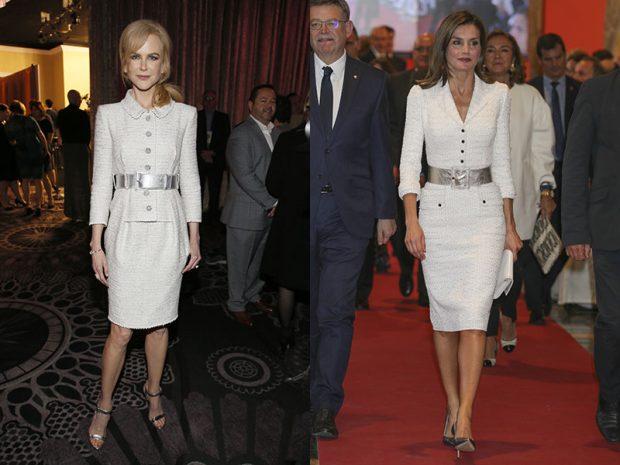 La reina Letizia y Nicole Kidman