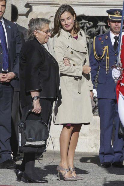 Doña Letizia junto a Nechama Rivlin / Gtres