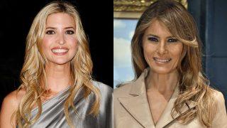GALERÍA: Ivanka y Melania Trump apuestan por la moda española. / Gtres