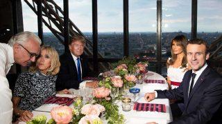 Los Trump cenan con Brigitte y Emmanuel Macron / Gtres