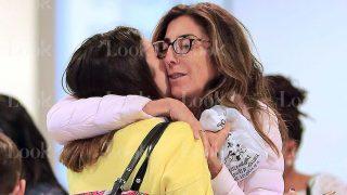 GALERÍA: La emotiva despedida de Paz Padilla y su hija Anna Ferrer / LOOK