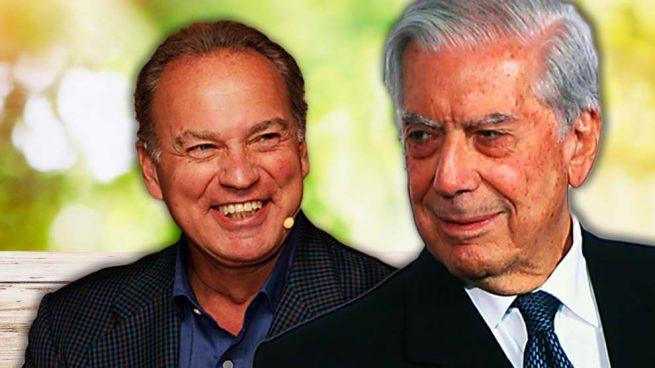 Mario Vargas Llosa y Bertín Osborne