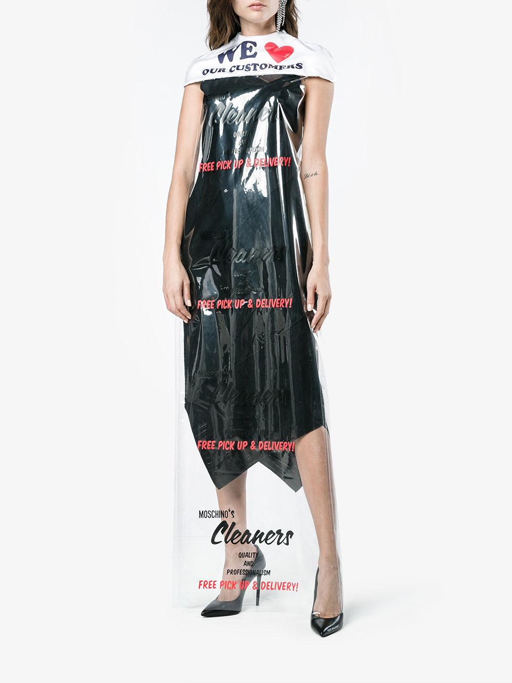 Vestido Bolsa Tintorería Moschino