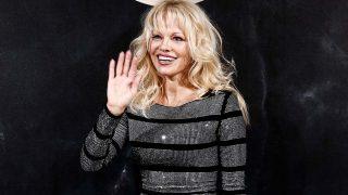 Pamela Anderson, el pasado mes de septiembre en París / Gtres
