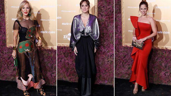 Mejor y peor vestidas de la fiesta 30 aniversario de Marie Claire Prix de la Moda 2017