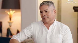 Boris Izaguirre durante la entrevista /Telecinco