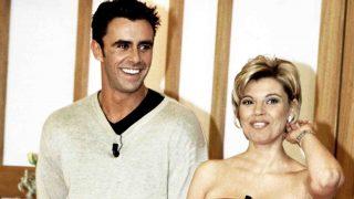 Terelu y Alonso Caparrós en el programa número 1000 de 'Día a día'. Para sus compañeros tan solo mantenían una relación de amistad./Gtres