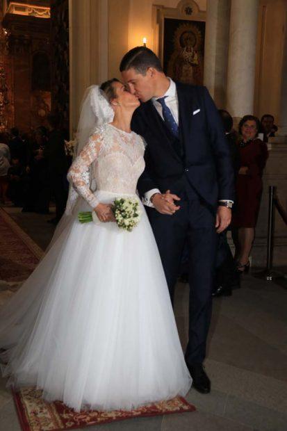 Yeyes y su marido Guillaume
