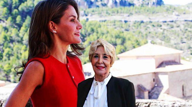 La reina Letizia y Concha Velasco