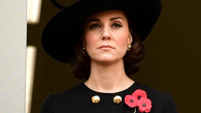 La Duquesa de Cambridge durante el Remembrance Day