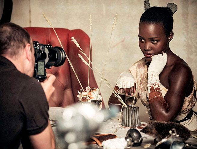 Lupita Nyongo pirelli