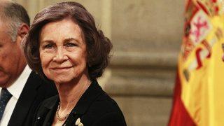 La Emérita ha sido la encargada de entregar el Premio Reina Sofía de Poesía Iberoamericana / Gtres