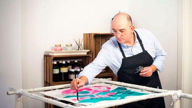 Alfredo Arranz en su taller