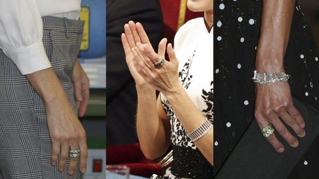 Los 'juegos' de doña Letizia con su anillo fetiche