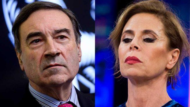 Ágatha Ruiz de la Prada y Pedro J Ramírez