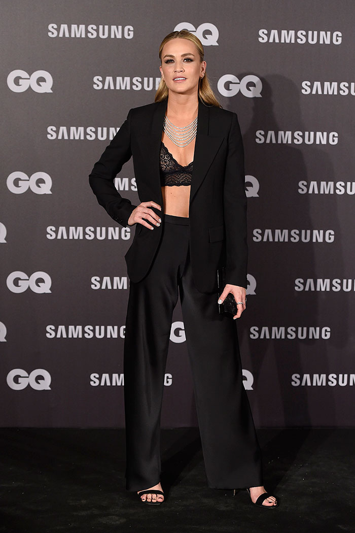 Carmen Jordá en los Premios GQ al Hombre del Año 2017