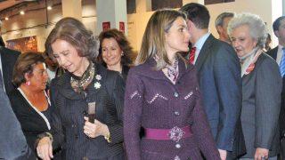 Las reinas Sofía y Letizia en una imagen de archivo / Gtres