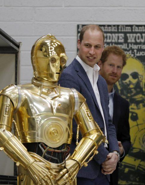 Enrique y Guillermo de Inglaterra, de príncipes a stormtroopers
