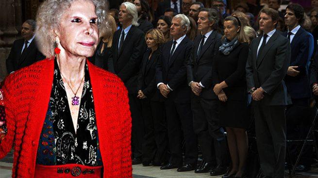 Descubrimos los planes de los Alba en el tercer aniversario de la muerte de Cayetana
