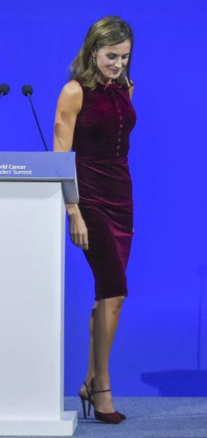 Letizia y Máxima, dos reinas en clave 'burgundy'