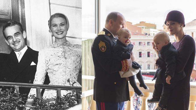 Así ha cambiado la 'foto oficial' del balcón del palacio de Mónaco