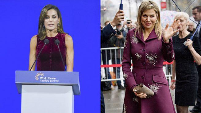 La reina Letizia y Máxima de Holanda / Gtres