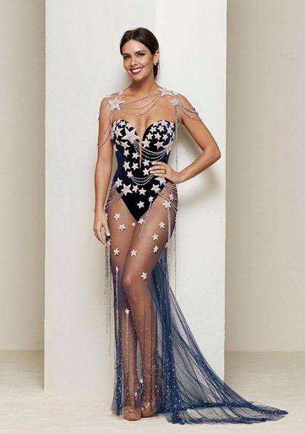 Vestido de Cristina Pedroche nochevieja 2016