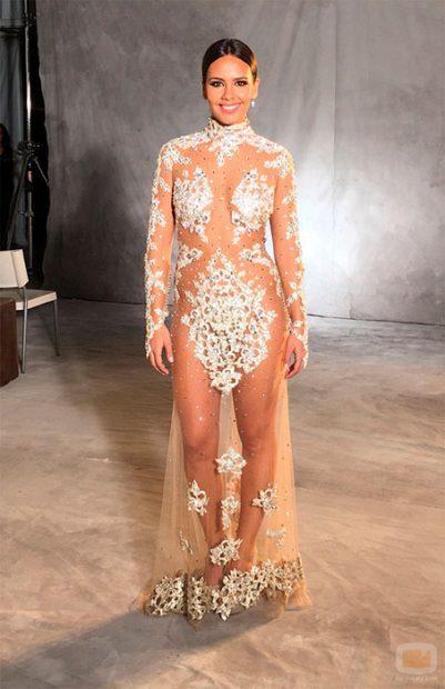 Vestido de Cristina Pedroche en la Nochevieja del 2015