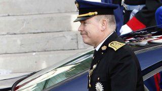 Alberto II de Mónaco todavía no se ha rasurado el bigote /Gtres