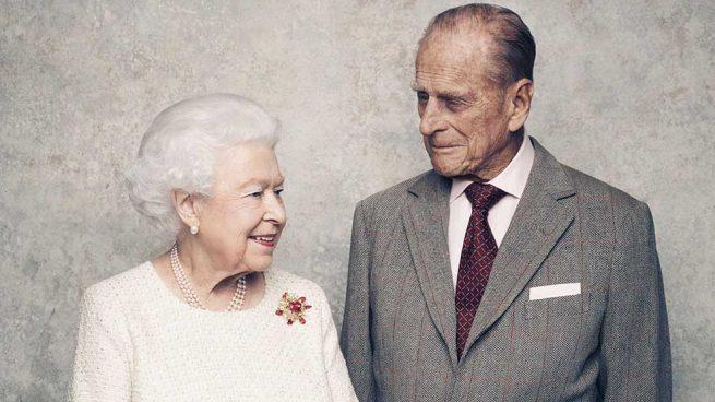 La Reina y el duque de Edimburgo