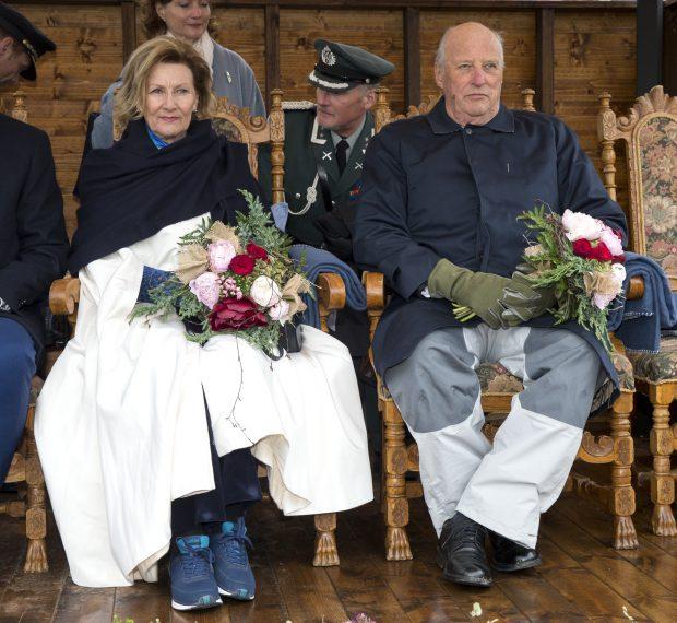 Los reyes Harald y Sonia en una imagen de archivo / Gtres