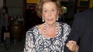 Galeria: Así se mostró Carmen Franco en su última aparición pública en el teatro de la Zarzuela / Gtres