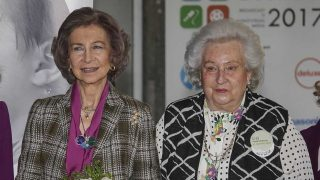 La reina Sofía y doña Pilar / Gtres