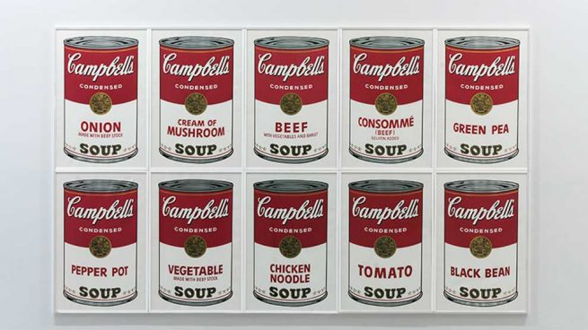 Andy Warhol Exposicion Barcelona