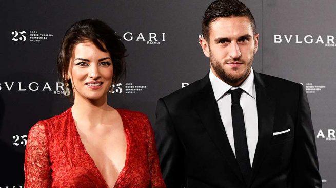 koke, futbolista del atlético de madrid, se casa con su novia de siempre