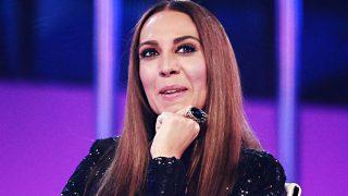 La cantante Mónica Naranjo durante gala de 'Operación Triunfo' 2017 / Gtres