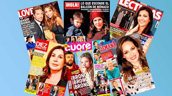 Revistas del corazón del miércoles 22 de noviembre de 2017