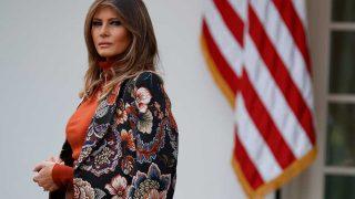 GALERÍA: Los espectaculares abrigos del armario de la Primera Dama. / Gtres
