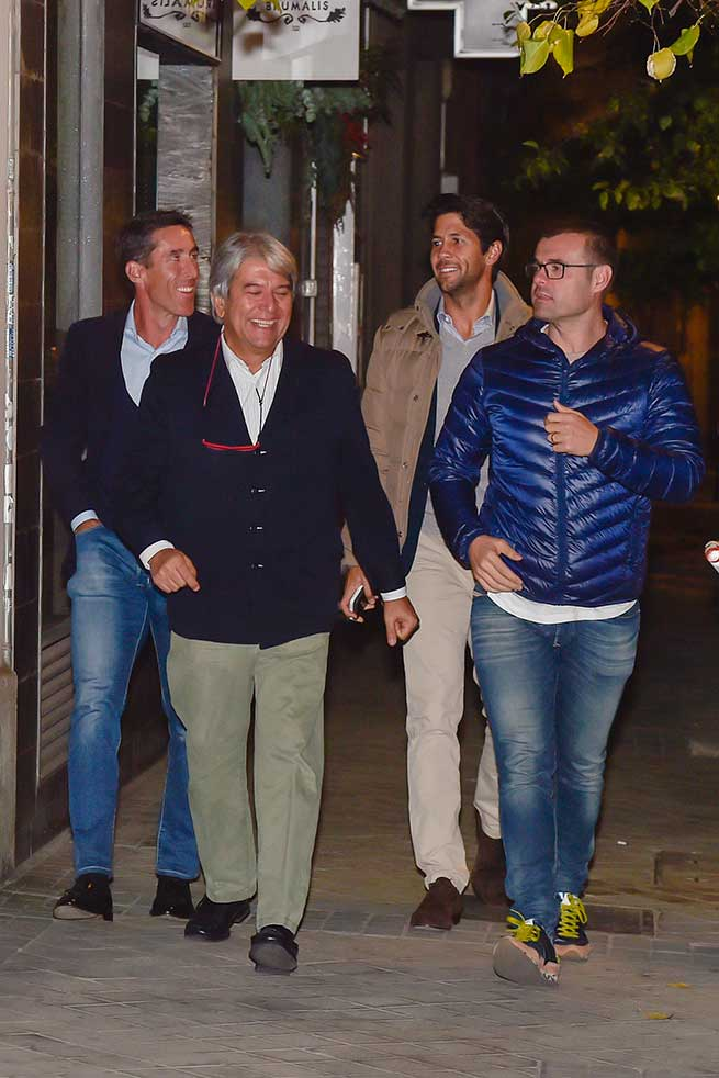 Fernando Verdasco, Juan Carmona, José Verdasco