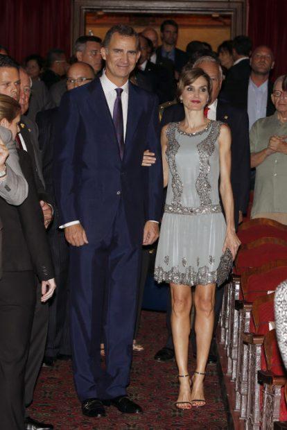 Melania Trump y doña Letizia, dos maneras de entender el look 'Gatsby'